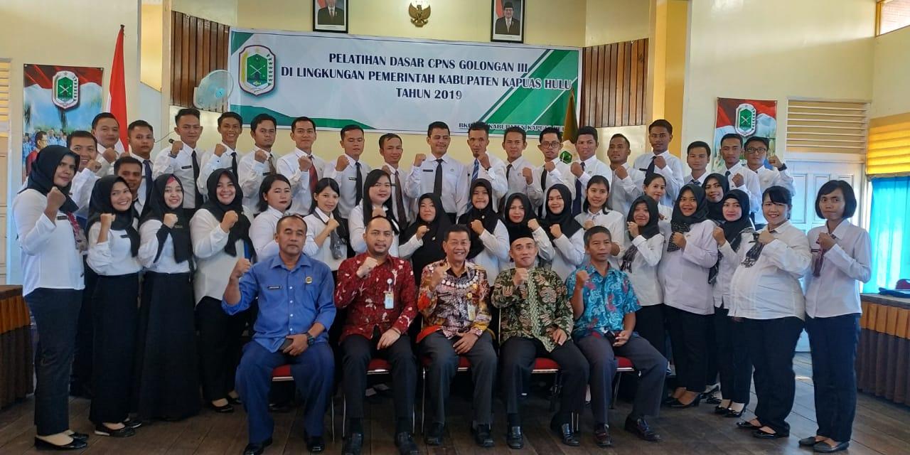 Penutupan Pelatihan Dasar Cpns Golongan III Gelombang 3 Angkatan 37 Tahun 2019